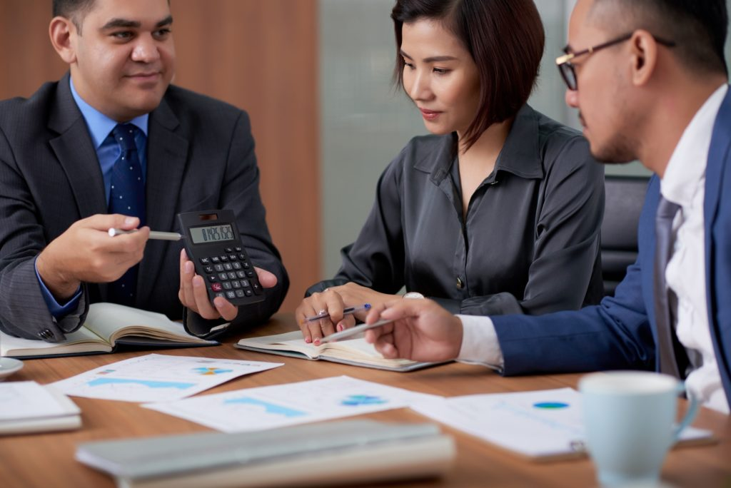 Calculating Company Profits with Colleagues